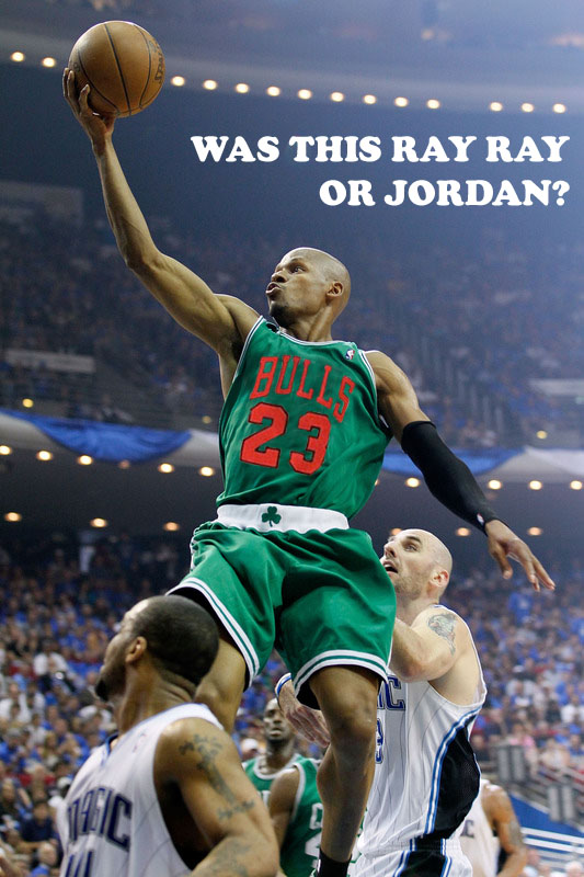 Seriously, was it Ray Ray or Jordan in Game #1 of the ECF?