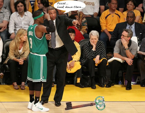 There it is, Rondo... Just pick it up and go.